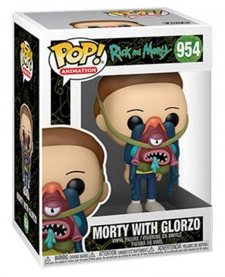 Funko POP Animation: Rick & Morty - Morty w/ Glorzo [HRAČKA]